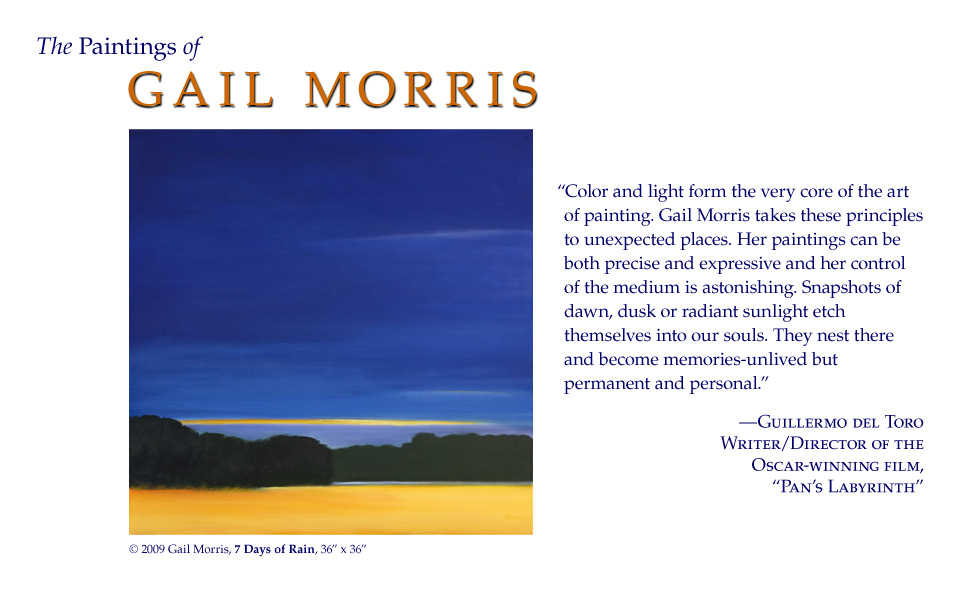 The Paintings of Gail Morris