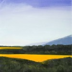 "Bolinas View, 12"" x 12"", oil on canvas"