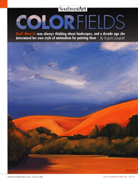 Southwest Art: Color Fields, August 2006