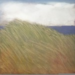 "Japanese Grasses, 12"" x 12"", oil on canvas"