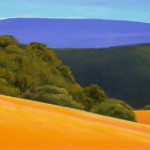 """Nicasio Ranch, 24"""" x 36"""", oil on canvas"""